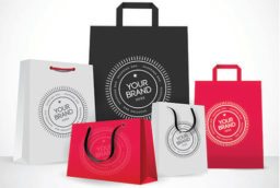 пакет с логотипом Запорожье