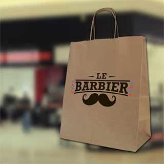 Крафт пакет Barbier